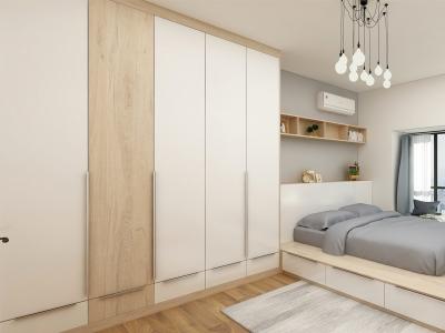 家具封边条衣柜:绿地公馆应用案例